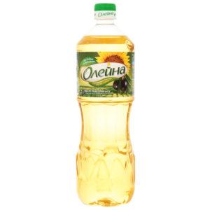 """Масло подсолнечное """"Олейна"""" с добавл.оливкового 1л."""