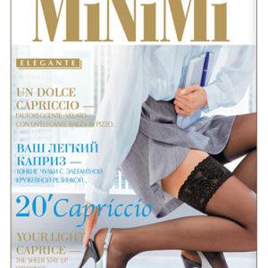 "Чулки ""MINIMI"" Каприччо 20ден L/XL черные"