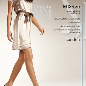 """Колготки """"SiSi"""" Miss 20ден №2 черные"""