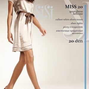 """Колготки """"SiSi"""" Miss 20ден №3 черные"""