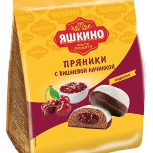 "Пряники ""Яшкино"" Вишневые 350г"