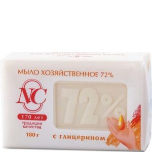 Мыло Хозяйственное с глицерином 72% 180гр