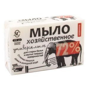 Мыло Хозяйственное 72% универсальное 180г