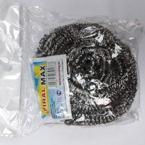 Мочалка д/посуды метал  спирал.max Coral