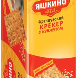 """Крекер """"Яшкино"""" Французский с кунжутом185г"""