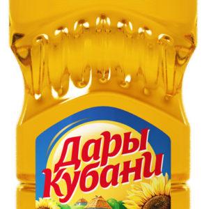 "Масло подсолнечное ""Дары кубани"" 0,65л"