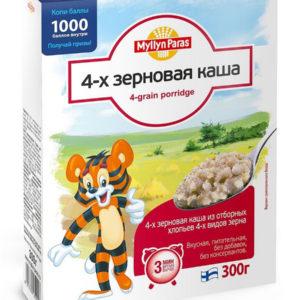 """Каша 4-х зерновая """"Myllyn Paras"""" 300гр"""