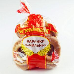 """Баранки """"Ванильные"""" 320гр х/з№1"""