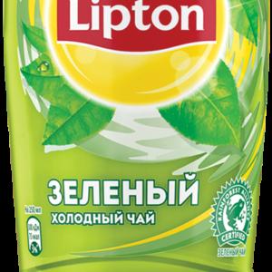 Холодный зеленый чай Липтон 1л