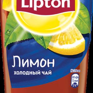 Холодный чай Липтон Лимон 0,5л