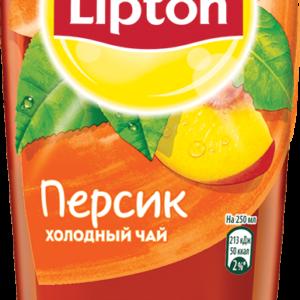Холодный чай Липтон Персик 0,5л