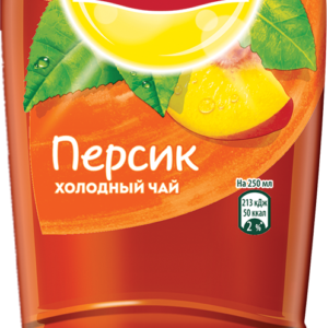 Холодный чай Липтон Персик 1л