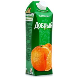 Добрый 1л Апельсин нектар