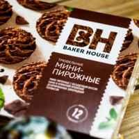 """Мини-пирожные """"Baker House"""" 240г С вареной сгущенкой"""