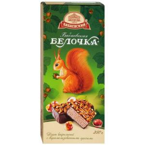 """Вафельный торт """"Бабаевская Белочка"""" 250г"""