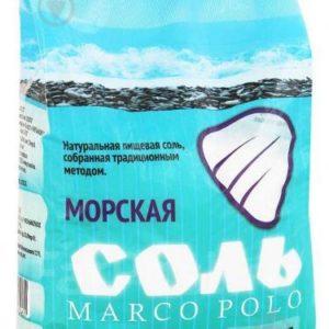 """Соль морская """"Marco Polo"""" 1000г"""