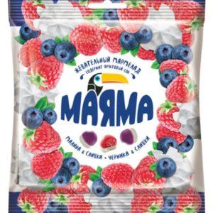 """Мармелад """"Маяма"""" малина/черника со сливками"""