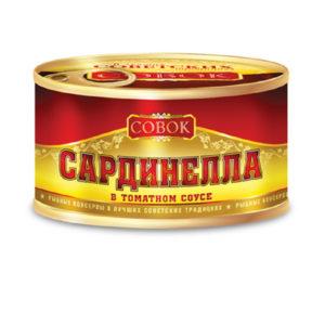 Сардинелла в т/соусе 250г Совок