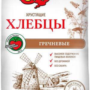 """Хлебцы """"Ого"""" гречневые 75г"""