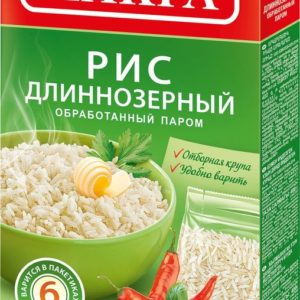 """Рис длиннозерный """"Макфа"""" пропаренный 5*80г"""