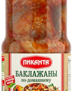 """Баклажаны по-домашнему """"Пиканта"""" 520г с/б"""