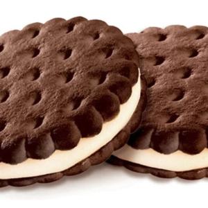 Печенье Сэндвич шок-сливочный КДВ