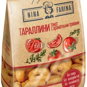 """Тараллини """"Nina Farina"""" 180г томат/травы"""