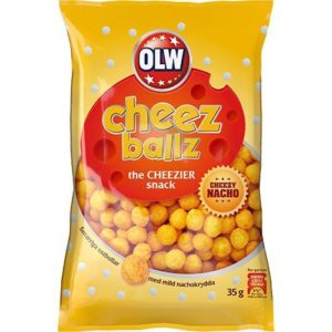 "Сырные ширики ""OLW"" 35г"