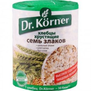 "Хлебцы ""Dr.Korner"" 100г круг семь злаков"