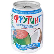 Напиток Фрутинг из натур.сока гуавы 238мл