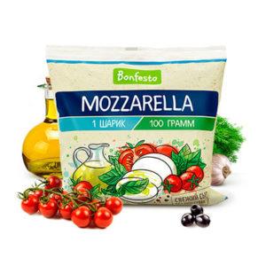 """Сыр """"Моцарелла"""" мягкий 45% 100г БЗМЖ"""