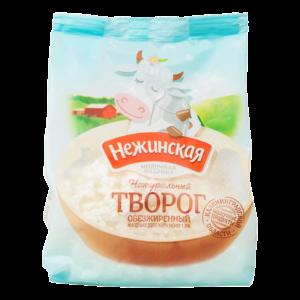 """Творог """"Нежинская"""" 0%"""