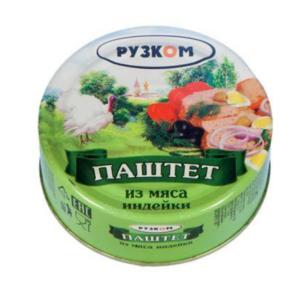 """Паштет """"Рузком"""" печёночный Индейка"""