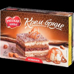 "Торт ""Русская Нива"" Крем-брюле"