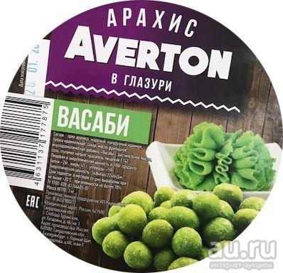 """Арахис """"Averton"""" в глазури Васаби 120г"""