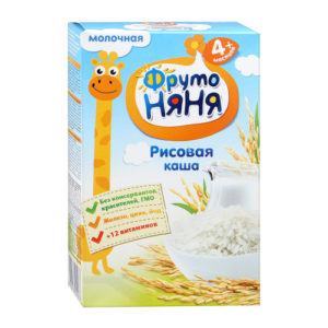 ФрутоНяня Каша рисовая молочная 200г