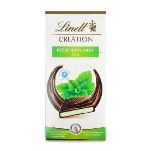 """Шоколад """"Линдт"""" тёмныйс мятой"""