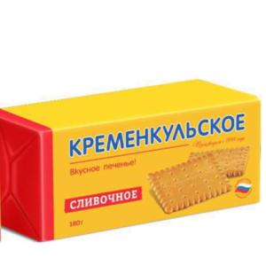 """Печенье """"Кременкульское"""" Сливочное"""