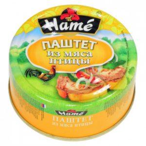 """Паштет """"Hame"""" с мясом птицы"""