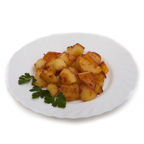 Картофель отварной обжареный