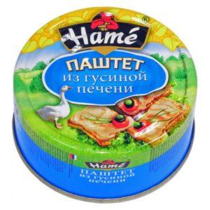 """Паштет """"Hame"""" с гусиной печенью"""