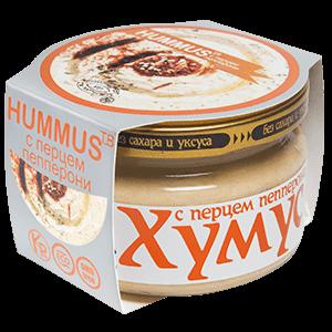 """Хумус """"Тайны востока"""" с перцем пепперони 200г"""
