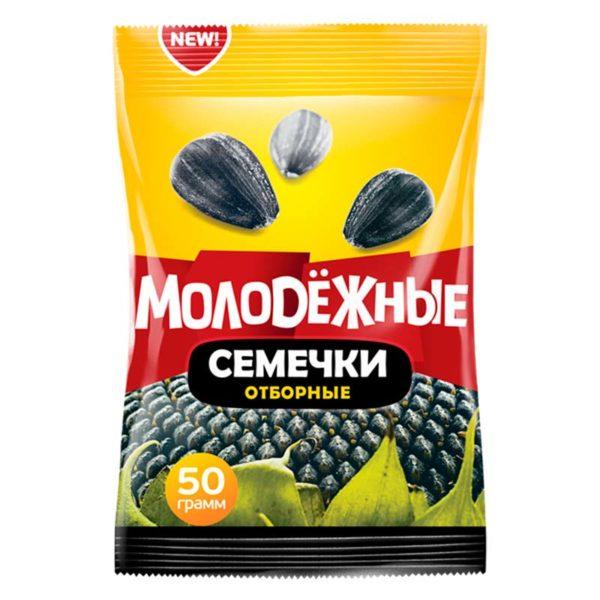 """Семечки """"Молодежные"""" 50гр."""