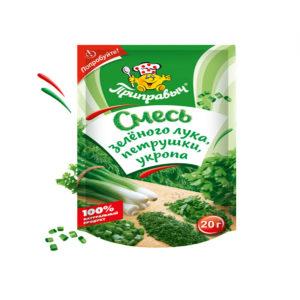 Приправыч Смесь зеленого лука/петрушки/укропа 20г