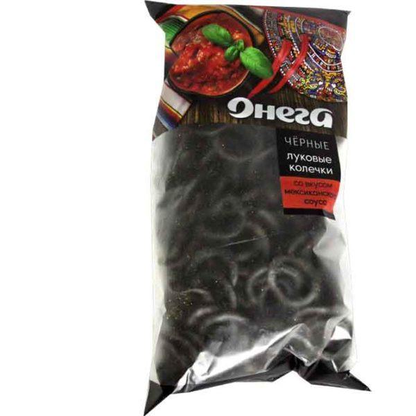 Луковые колечки черные Онега 120 гр