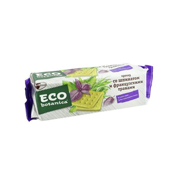 """Крекер """"Eco Botanica"""" 175г Шпинат и французские травы"""