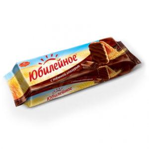 Печенье Юбилейное  в шоколаде 400г