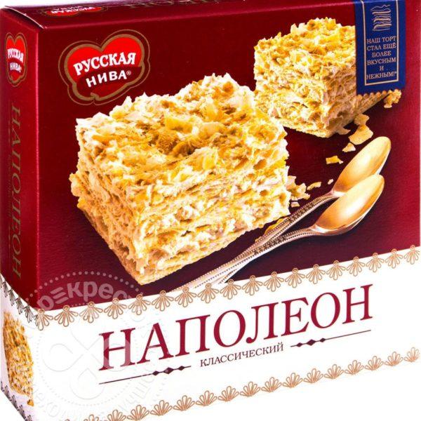 "Торт ""Наполеон"" 400г Русская Нива"
