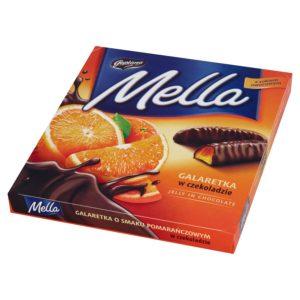 """Конфеты """"Мелла"""" 190г Желейный апельсин в шоколаде"""