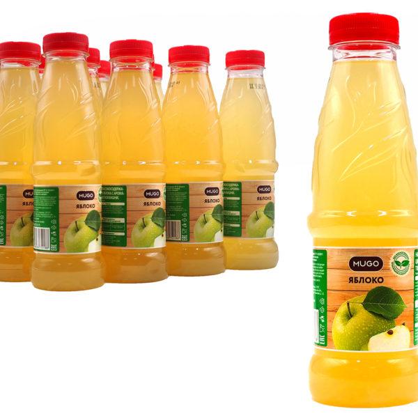 """Напиток сокосодержащий """"Mugo"""" Яблоко 0,5л"""